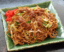 "Pork Sauce Fried Noodles""Seto Yakisoba"""