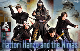Hattori Hanzo and the Ninjas