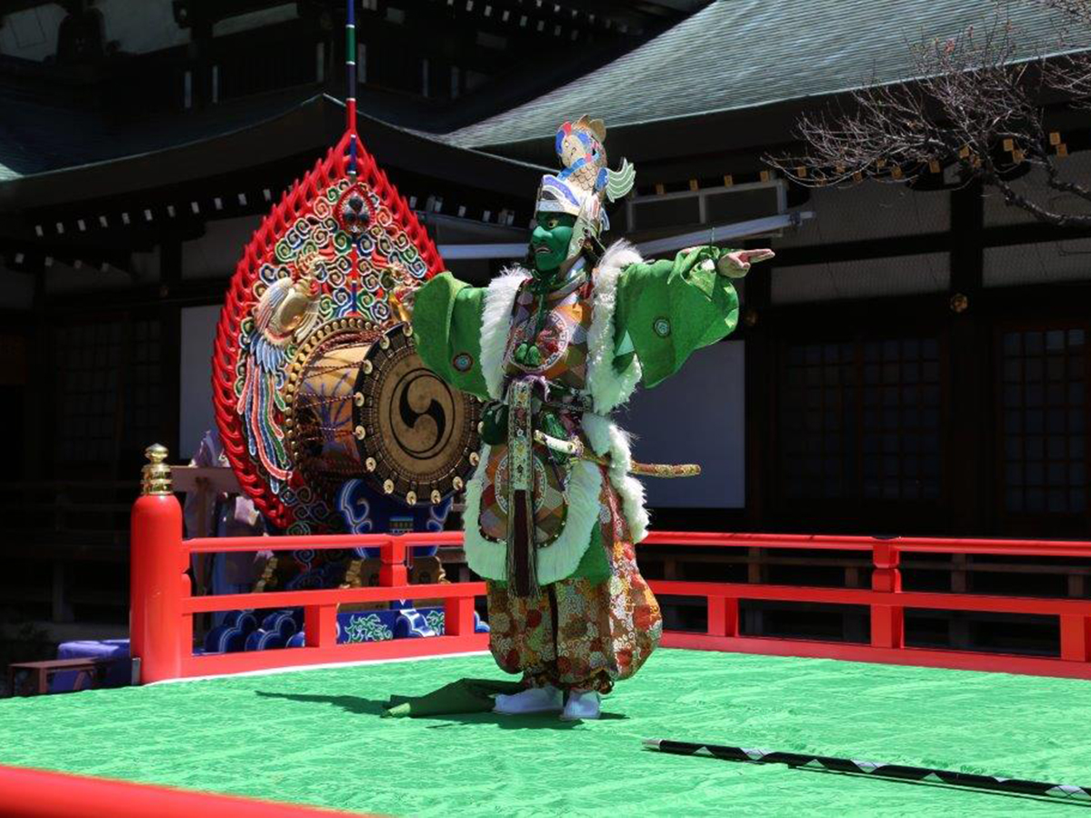 Masumida Shrine Buraku Ritualistic Performances (Masumida Jinja Buraku-Shinji)
