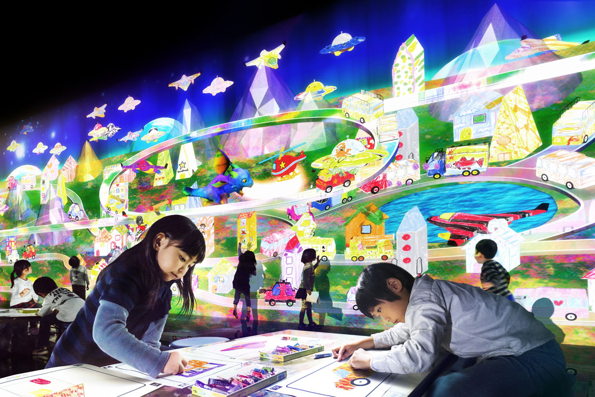 teamLab★Island Dance! Art Exhibition, Learn & Play! Future Park
