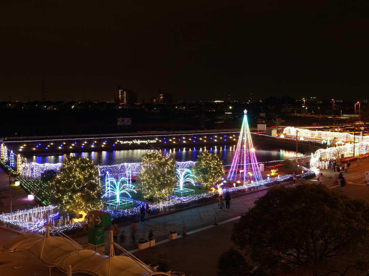 2019 Kariya Highway Oasis Romantic Illumination - Oasis of Light