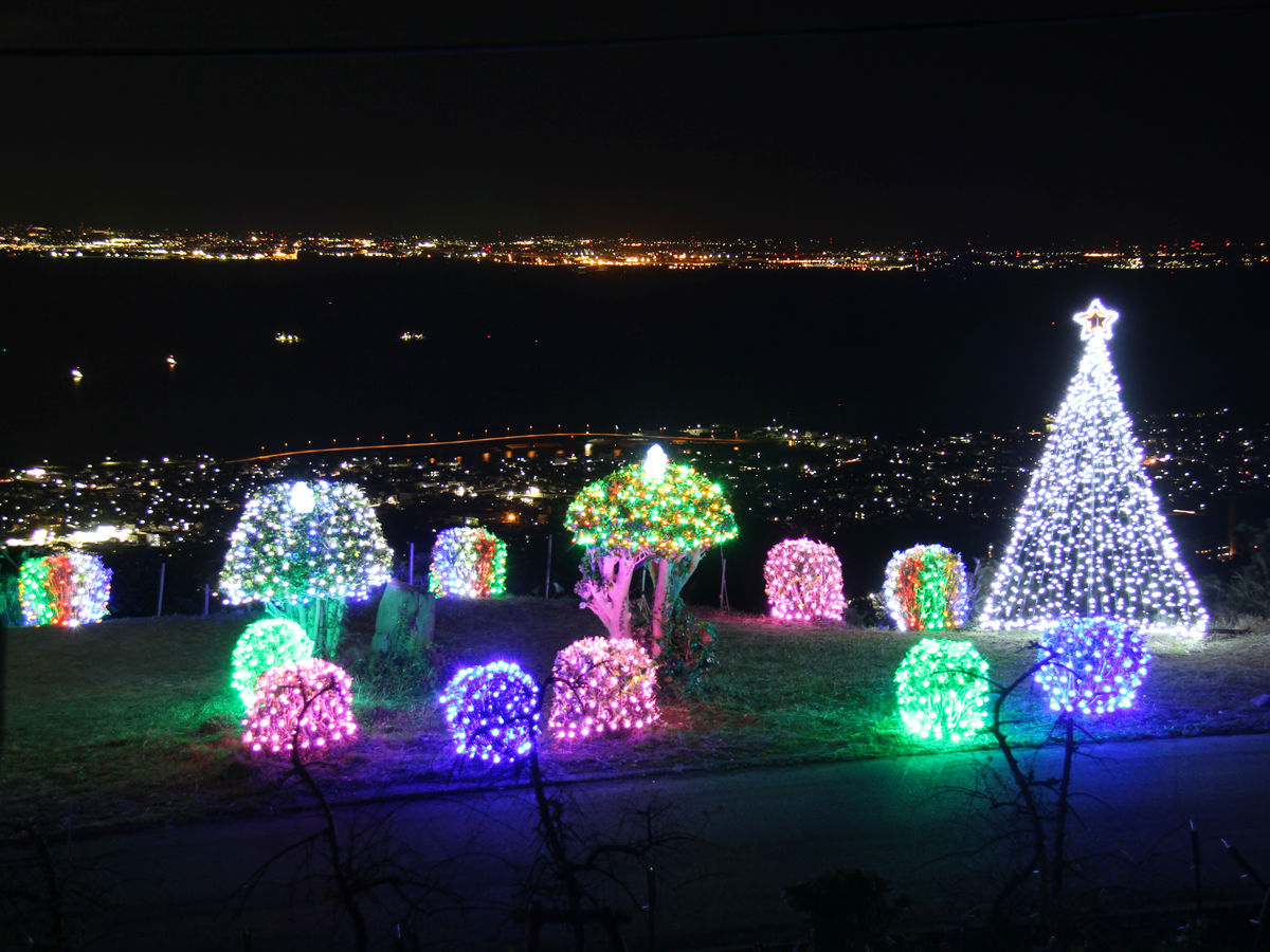 Sangane Skyline Illumination