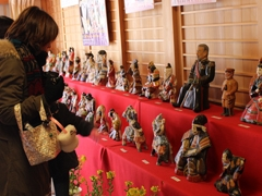 Hina Dolls of Chuma in Asuke-Town
