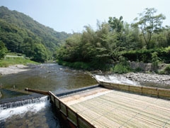 Otogawa River Fishing Weir (Otogawa Yana)