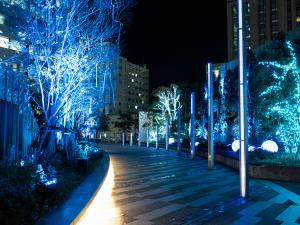 Nagoya Lucent Tower Winter Illumination