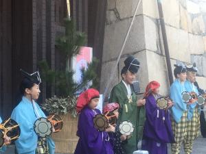 New Year First Nagoya Castle Opening