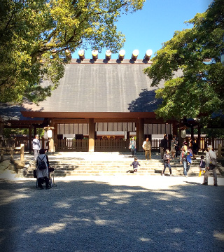 Atsuta Jingu, the Samurai Shrine