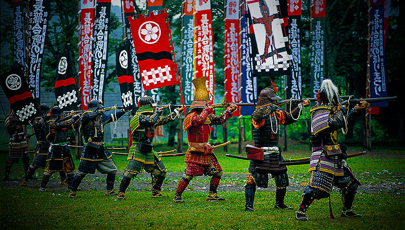 Nagashino Battle Flag Festival